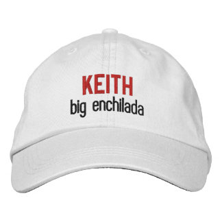 FUNNY Boss Big Enchilada Custom Name V01 Embroidered Baseball Caps