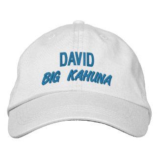 Funny BOSS Big Kahuna Hat with Custom Name V09 Baseball Cap
