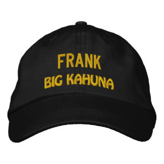 Funny BOSS Big Kahuna Hat with Custom Name V18