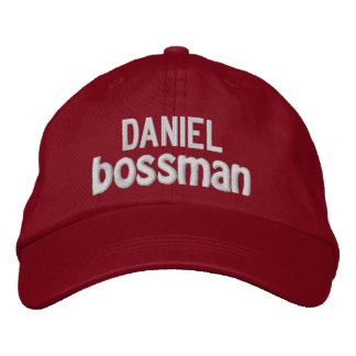 Funny BOSS Bigwig Hat with Custom Name V13 Baseball Cap