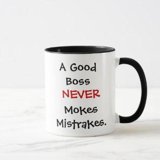 Funny Boss Joke Quote Mug