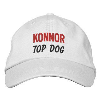 FUNNY Boss Top Dog Custom Name V07 Baseball Cap