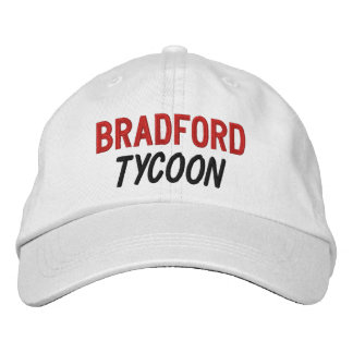 FUNNY Boss Tycoon Custom Name V09 Embroidered Hat
