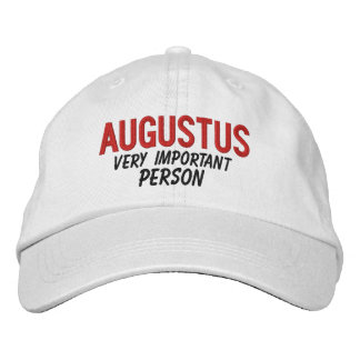 FUNNY Boss Very Important Person Custom Name V11 Embroidered Hat