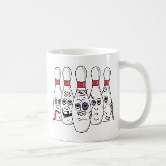 Funny Bowling Basic White Mug