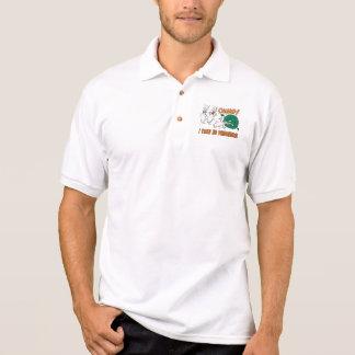 Funny Bowling Polo T-shirt