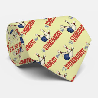 Funny Bowling Tie