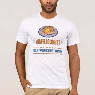 Funny Breakfast Waffles T-Shirt