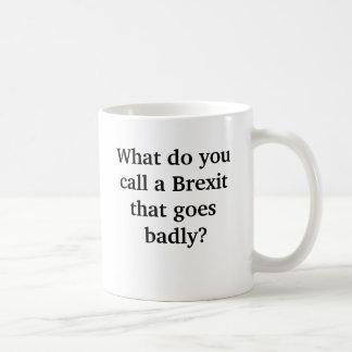 Funny Brexit Gone Badly Joke Coffee Mug