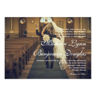 funny bride kidnapping/Wedding Invitation