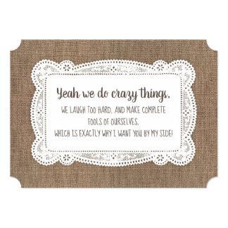 Funny Bridesmaid / Maid of Honor Proposal Card