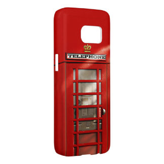 Funny British City of London Red Phone Booth