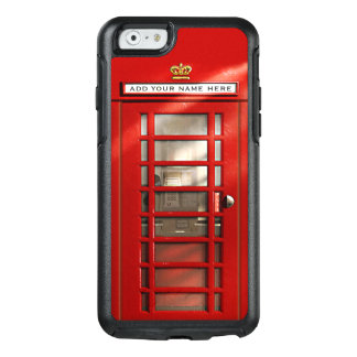 Funny British City Of London Red Phone Booth OtterBox iPhone 6/6s Case