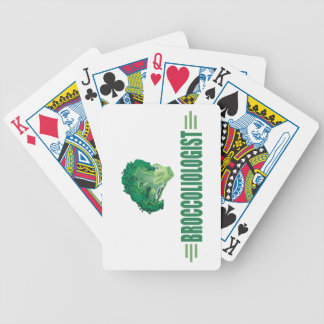 Funny Broccoli Bicycle Playing Cards