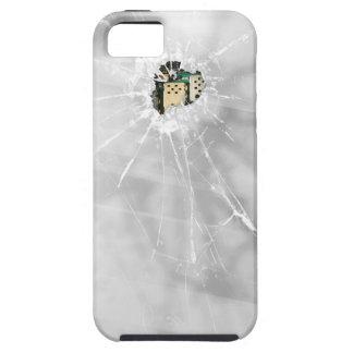 Funny Broken Glass Smartphone iPhone 5 Cases