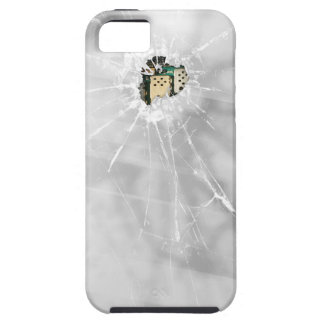 Funny Broken Glass Smartphone iPhone 5 Cover
