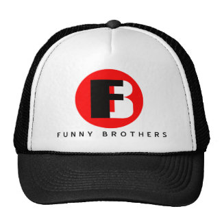 Funny Brothers Truckers Hat