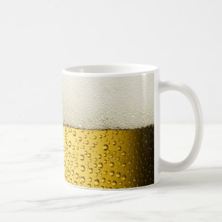 Funny Bubbles Beer Glass Gold Coffee Mug