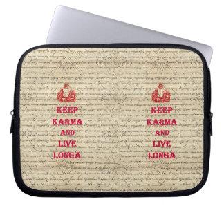 Funny Buddha saying Laptop Sleeves
