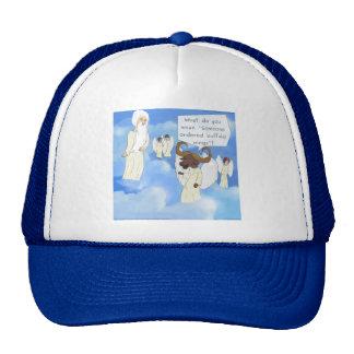 Funny Buffalo Wings In Heaven Gift Cap