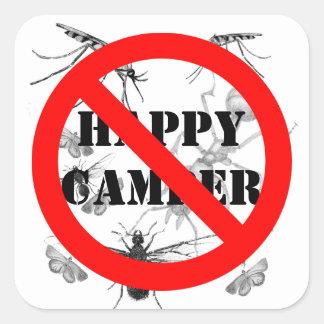 Funny Bugs Happy Camper NO Stickers
