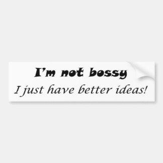 Funny bumperstickers unique gift ideas humour bumper sticker
