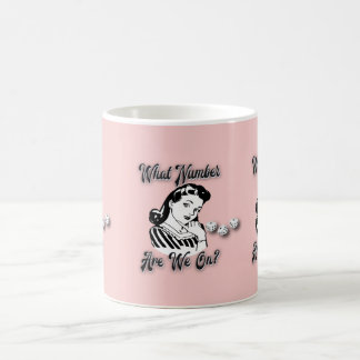 Funny Bunco Prize Mug - What Number Are We On?