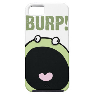 Funny Burp Monster iPhone 5 Case