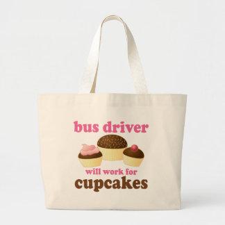 Funny Bus Driver Jumbo Tote Bag
