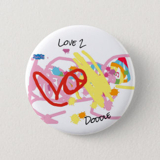 Funny Button with Doddle