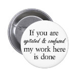 Funny buttons womens friends quotes gifts