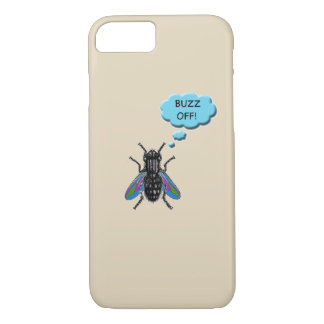 Funny Buzz Off Fly Iphone Case