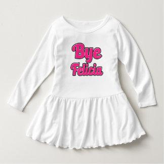 Funny Bye Felicia Girls ruffle shirt