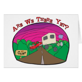 Funny Camping Cards