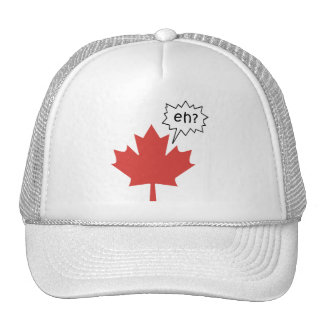 Funny Canadian Trucker Hat