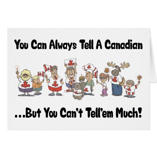 Funny Canadian Greeting Cards