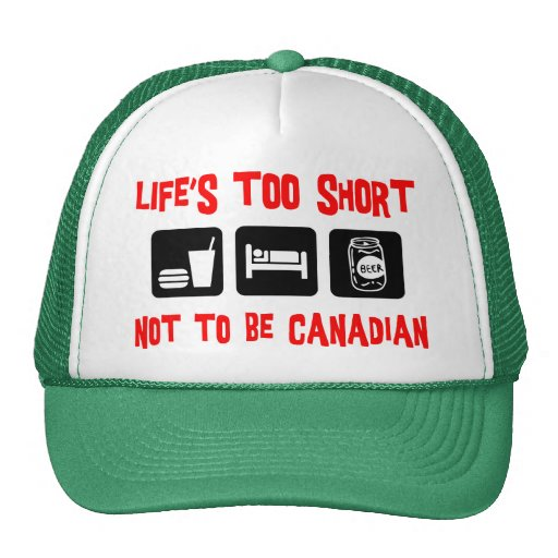 Funny  Canadian Mesh Hat
