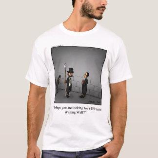 Funny Captain Ahab Wailing Wall Tee Shirt