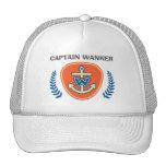 """Funny """"Captain Wanker"""" Cap"""