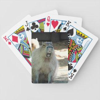 Funny Capybara Deck of cards