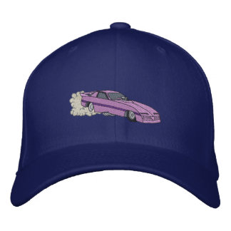 Funny Car Embroidered Hat