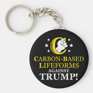 Funny Carbon-based Lifeforms Against Trump Key Ring