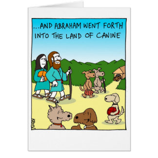 Funny card for Rosh Hashanah - Land of Canine
