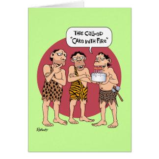 Funny Cartoon Birthday Card