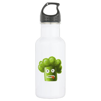 Funny Cartoon Broccoli 532 Ml Water Bottle