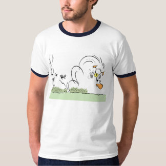 Funny Cartoon Duck Crash T-Shirt