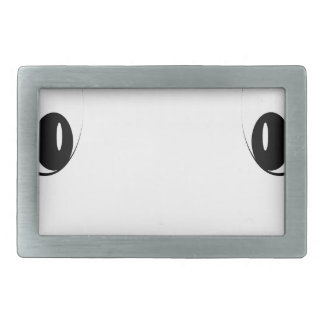 Funny cartoon face belt buckle