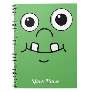 Funny Cartoon face Notebooks
