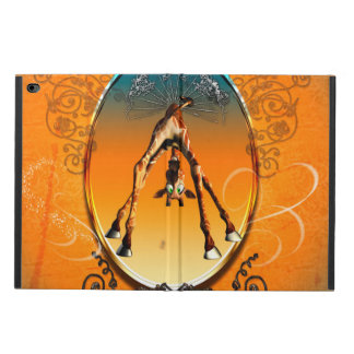 Funny cartoon giraffe powis iPad air 2 case