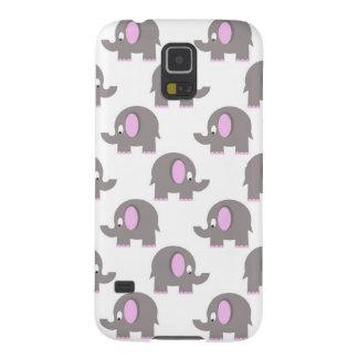 funny cartoon gray elephants cases for galaxy s5
